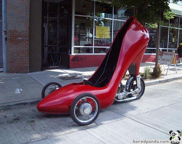 Lady   s Apavu Auto Autors: Fosilija Top 20 Visdīvainākās mašīnas