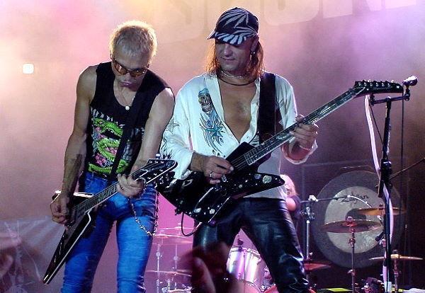 Rūdis un Matīss D Rudolf... Autors: Rupucss The Scorpions, long ago...