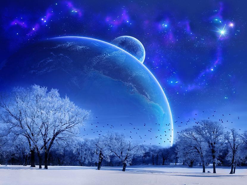 Tumši zilā krāsa tāpat kā... Autors: Mijolite Krasas. Zila.