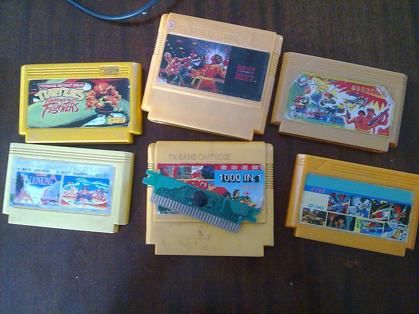 Šīs ir visas spēles Agrāk bija... Autors: YMothF Izklaides agrāk 2.- Spēļu konsole 1