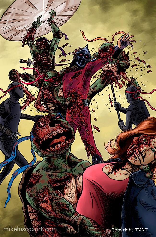 Autors: unicornXXL supervaroņi (zombie style)