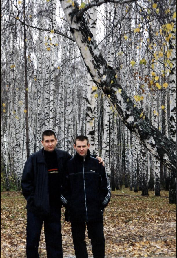 Foto 5 Sergejs ar brali stude... Autors: juri4ik Vēlme dzīvot