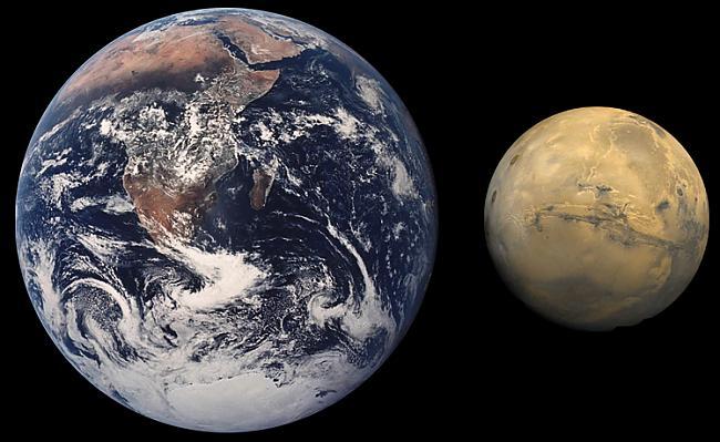 Marss patiesībā ir diezgan... Autors: Reversedfate Interesanti fakti par Marsu