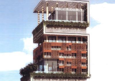 1 Antilla Mumbaja Indija  1... Autors: Strendžers 2010.gada dārgākās top10 mājas