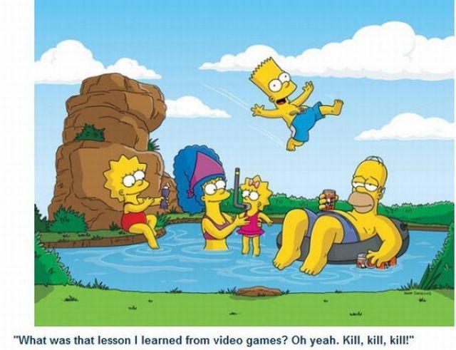 Autors: ČOPERS Piemīlīgais un  Ļaunais Bārts Simpsons!