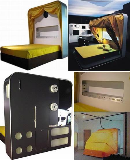 Gulta ... Autors: MJ TOP 12 superīgākās gultas.