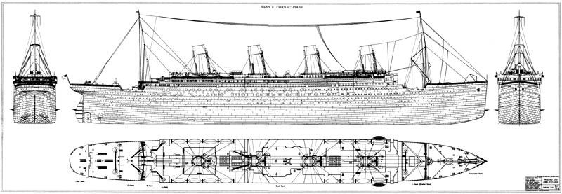 Чертежи кораблей Олимпик-класса и другие - фото 79 - Титаник2012.рф.
