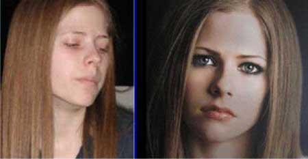 Avril Lavigne Autors: Sviesturs Slavenības bez kosmētikas