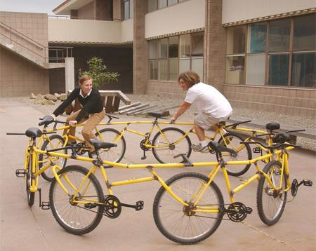 Velosipēds  karuselis Autors: LVmonstrs Unikāli un kreatīvi velosipēdi