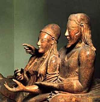 Nezināmie EtruskiEtruski ir... Autors: Pasaules iedzīvotājs Neatminētas mīklas .3