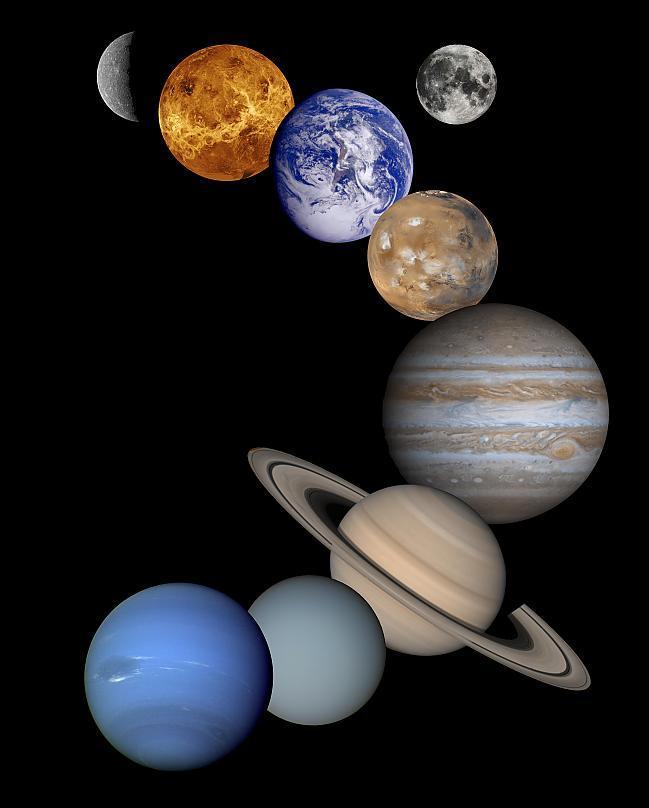 No kosmosa zeme ir spilgtākā... Autors: Fosilija Fakti Par Pasauli