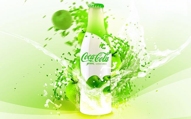 Coca Cola būtu zaļa ja tai... Autors: Fosilija Fakti Par Pasauli