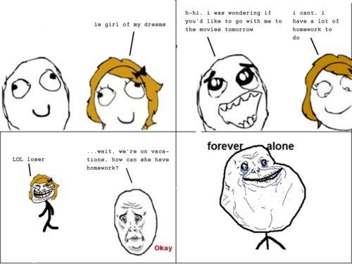 Autors: Tomatiish Forever alone komiksi!
