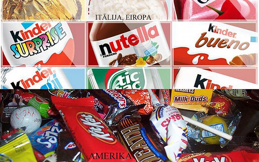 Tie paši saldumi mums ir... Autors: GuessWho Amerika vs Eiropa #2