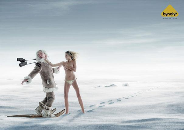 Bynolyt Binoculars Eskimo Autors: kailavista Sexy Ads