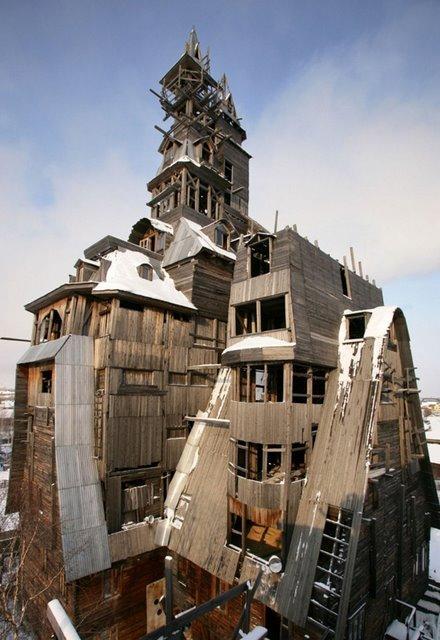 Wooden Gagster HouseNemācēju... Autors: battery Interesantākās ēkas pasaulē.