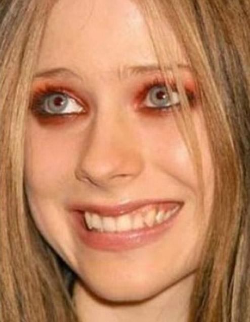 Avril Lavigne Autors: MJ Slavenību meikaps!Nr.2