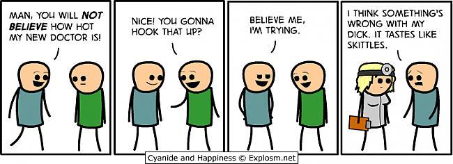 Autors: kristaars Cyanide & happiness