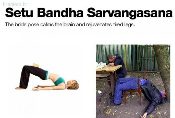 Setu Bandha Sarvangasana ... Autors: slix Alkohols vs Joga! Kurš labāks?