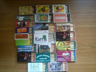 kopā 22 kastītes Autors: Boroo mana kolekcija 2# (sērkociņu kastītes)