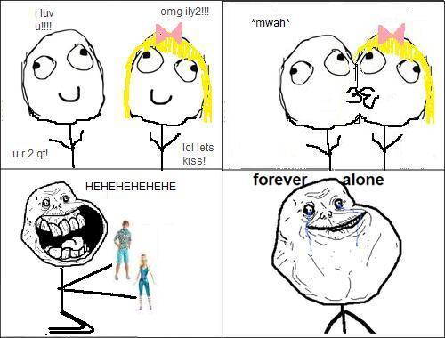 Autors: rainbow girl forever alone guy