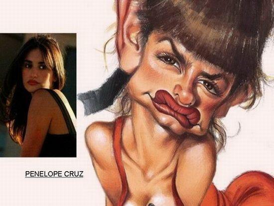 Penelope Cruz Autors: cdykgc uklgci Slavenību karikatūras