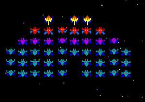 Galaxian Autors: Duality Best old school games