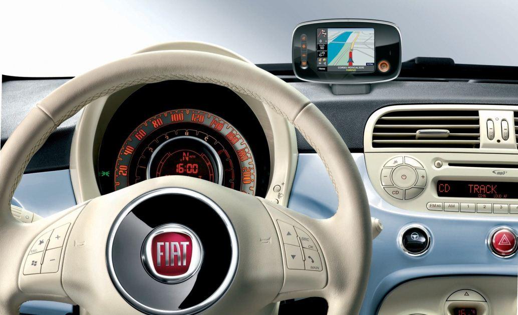 Фото салона Fiat 500 Pop / б…