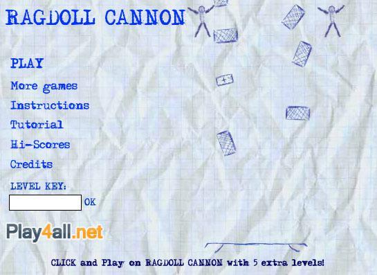 Ragdoll Cannon gt... Autors: surfix Forsas flash speles...