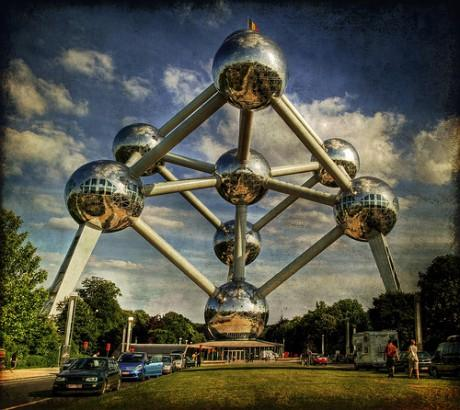 1vieta  Atomium Brisele Autors: BJinsiders top 5 normālas struktūras.