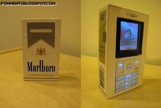 Abra kadarbra hujakš un... Autors: Edgarinshs Mobīlais+cigarešu paciņa=iespējams?
