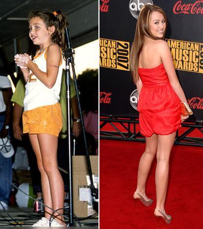 Miley Cyrus dzimusi kā Destiny... Autors: Edgarinshs Slavenību bērnu-mūsdienu foto