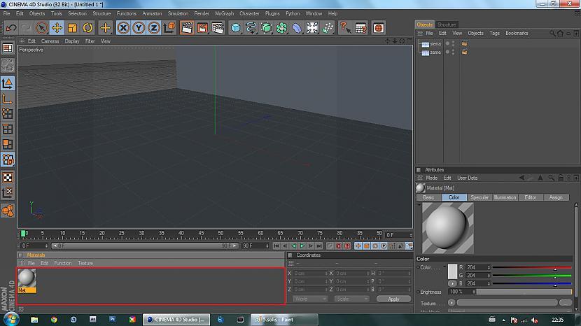 Izveidojam materiālu ar 2x... Autors: BuzzBomb 25 soļi, kā izveidot 3D ekrāna tapeti