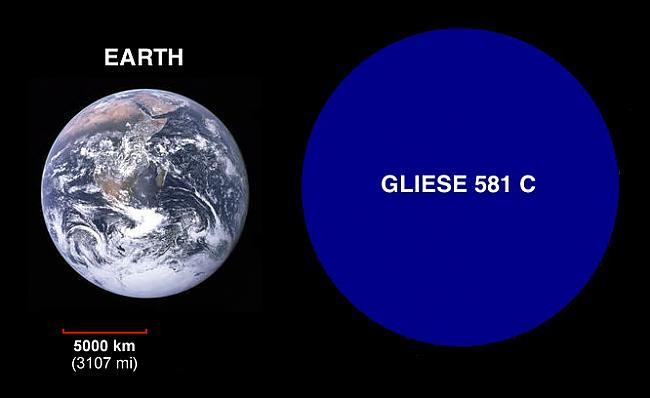 Gliese 581c orbitē apkārt... Autors: fischer Uz Gliese 581g varētu dzīvot?