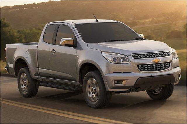 Iespējams ka lielākas izredzes... Autors: HHRonis Chevrolet prezentē jauno pikapu Colorado.