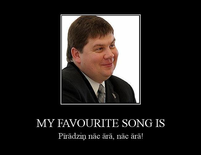 Autors: ANTIKVISTS MY favourite song is