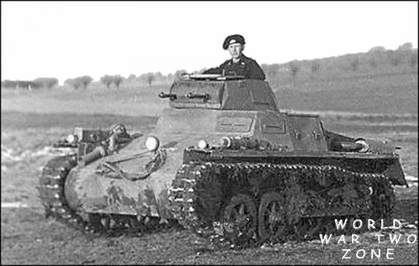 Panzer 1 Autors: Bucitis1 2.P.K vācu un krievu tanku salīdzinājums (1.daļa)