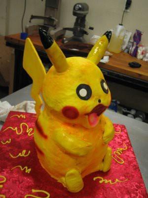 Bērnības varoņa Pikačū kūka no... Autors: DP Arodeyz Episkās kūkas.