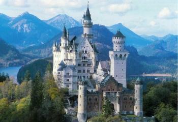 7  Neuschwanstein pils Minhene... Autors: Fosilija Top 10 pilis Eiropā