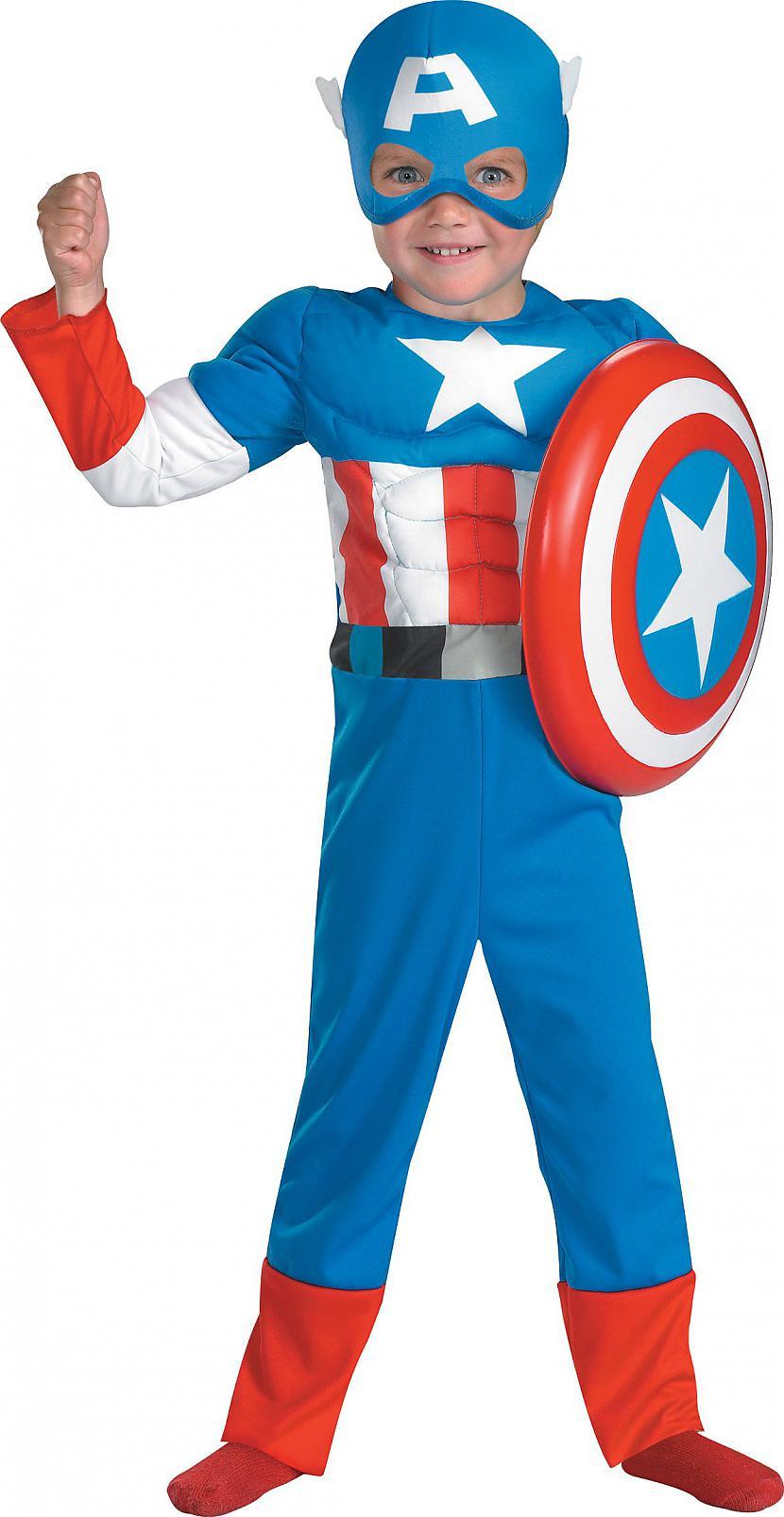 Kapteinis Amerika Autors: aidzix Bērni Superkostīmos