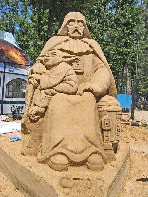 Autors: EpicHamster Smilšu skulptūras