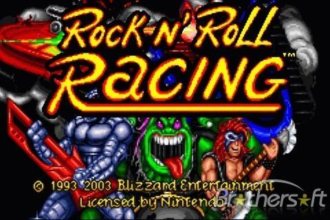 Spēle radās 1993 gadā spēli... Autors: Haroks Rock n Roll Racing 3D