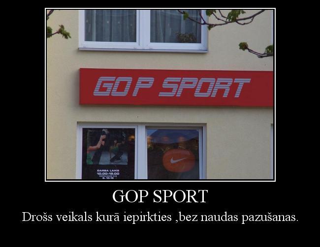 Autors: Preiss Gop sport