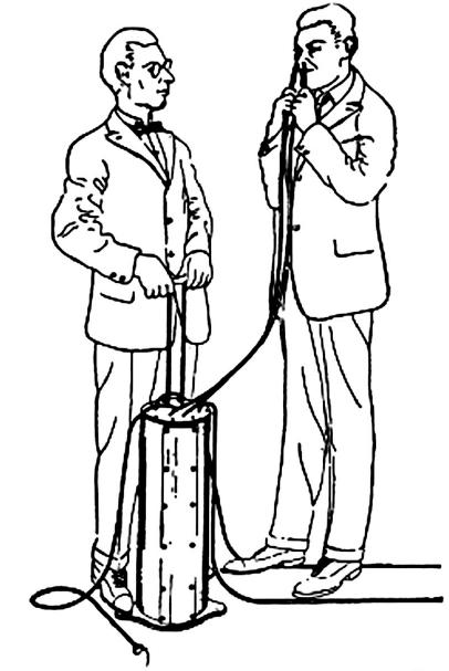 Elpošanas aparāts Ar šo varēja... Autors: Enderman Dīvainākie 20. gs izgudrojumi 2