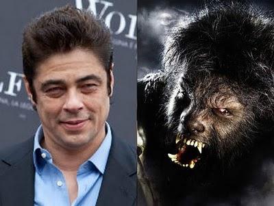 Benicio Del Toro  The Wolfman Autors: Pucklers Slavenību transformācijas