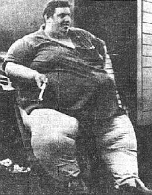 Jon Brower MinnochSvars635... Autors: KeiVii 5 Smagākie cilvēki pasaulē.