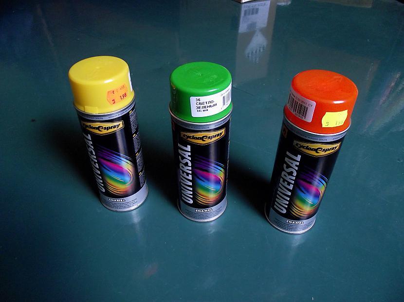 krāsas kuras vajadzēs Autors: reinis asais Samsung Star GT-S5230 tunings