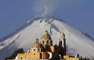 7Popocatepetl vulkāns Meksika ... Autors: Krokočalis TOP 10 - Pasaules vulkāni