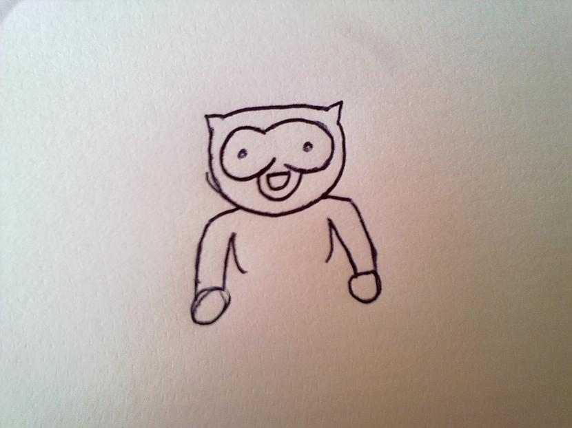 Sākam zīmēt rumpi Autors: miervalds Tā ir jāzīmē...