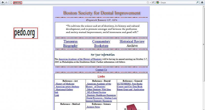 Un šī ir Bostonas sabiedrība... Autors: Ūberpele Smieklīgu WEB adrešu nosaukumi